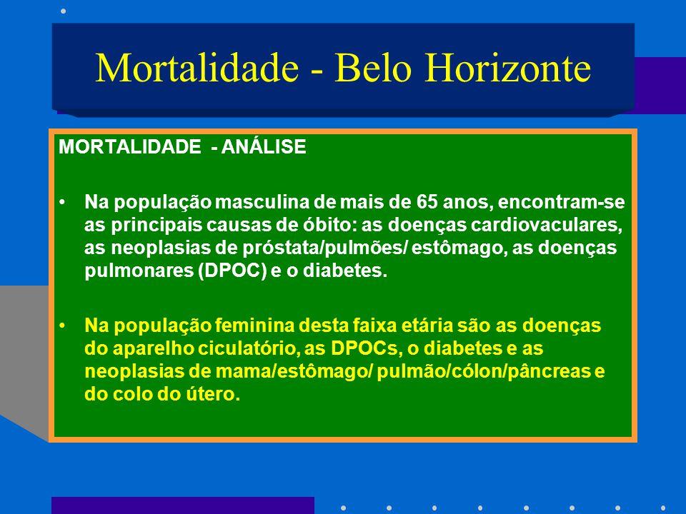 Mortalidade - Belo Horizonte
