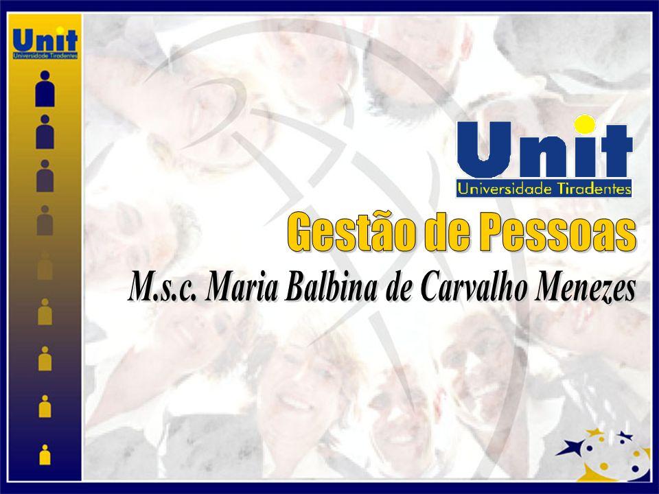 M.s.c. Maria Balbina de Carvalho Menezes