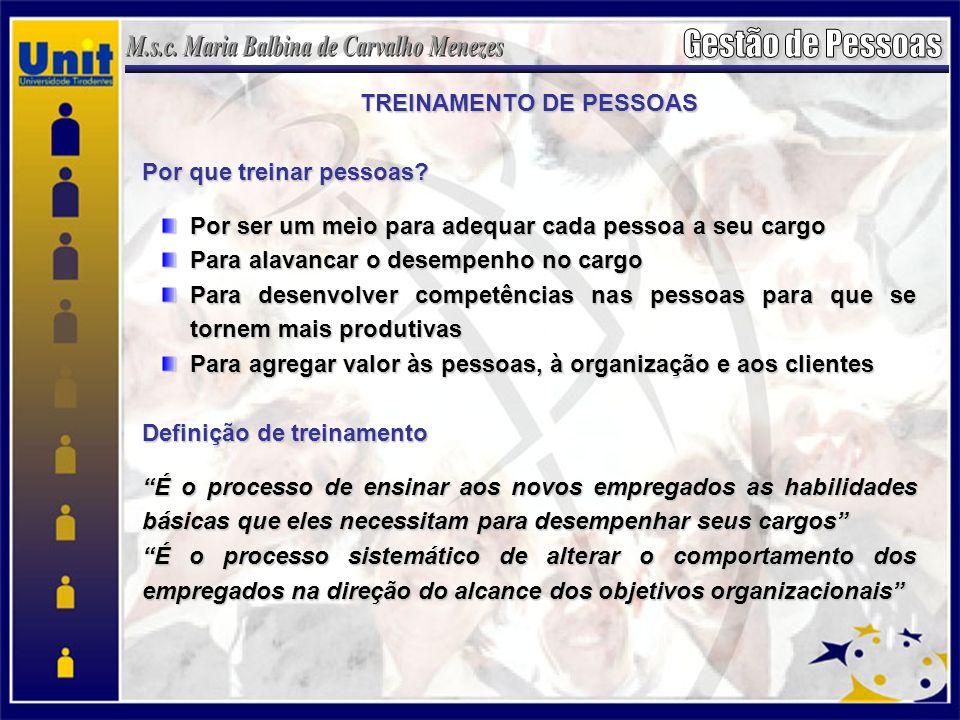 TREINAMENTO DE PESSOAS