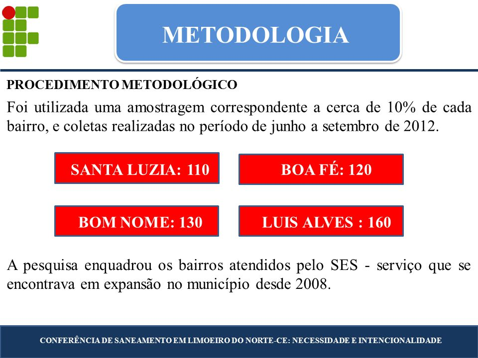 METODOLOGIA PROCEDIMENTO METODOLÓGICO.
