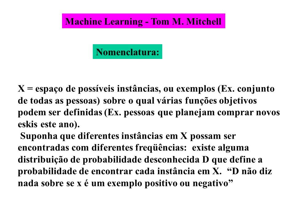 Machine Learning - Tom M. Mitchell