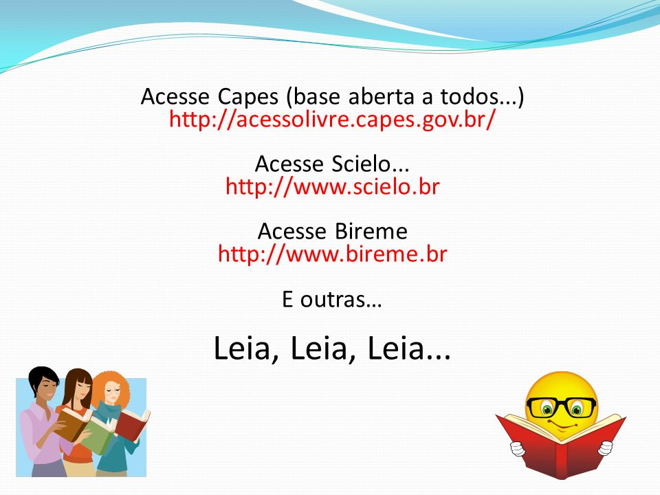 Acesse Capes (base aberta a todos...)