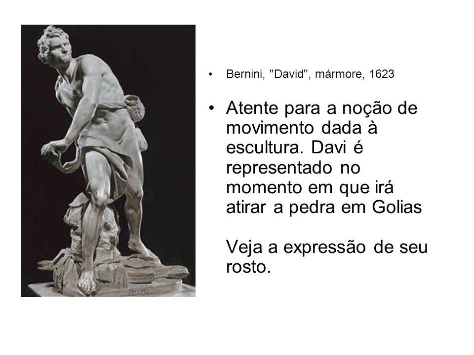 Bernini, David , mármore, 1623