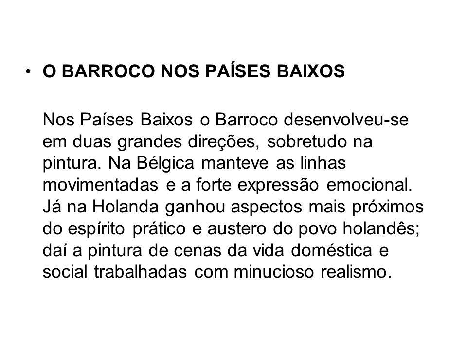 O BARROCO NOS PAÍSES BAIXOS