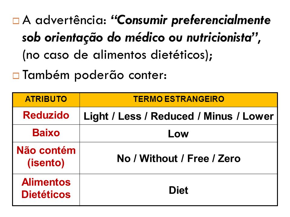 Light / Less / Reduced / Minus / Lower No / Without / Free / Zero