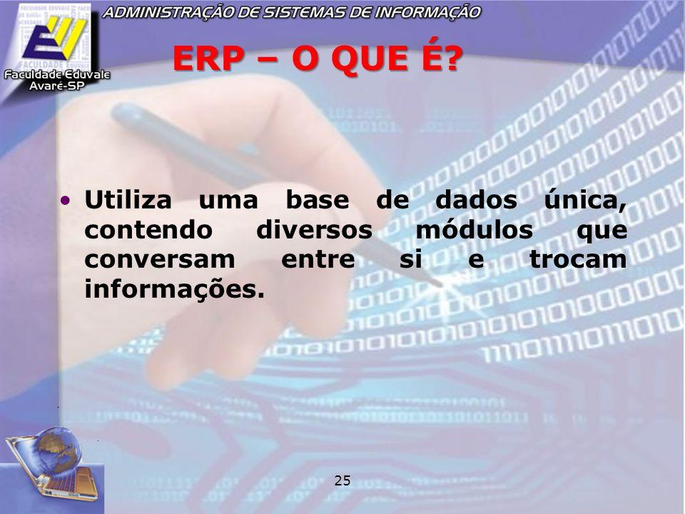 ERP – O QUE É.