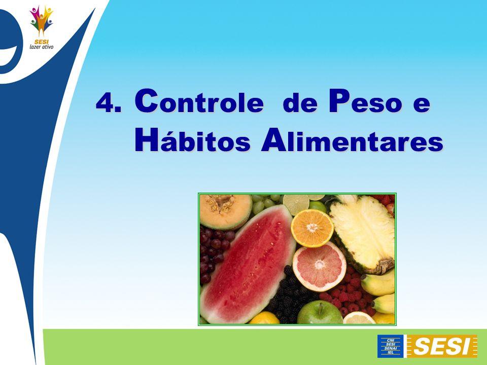 4. Controle de Peso e Hábitos Alimentares