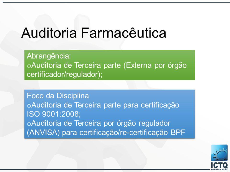 Auditoria Farmacêutica