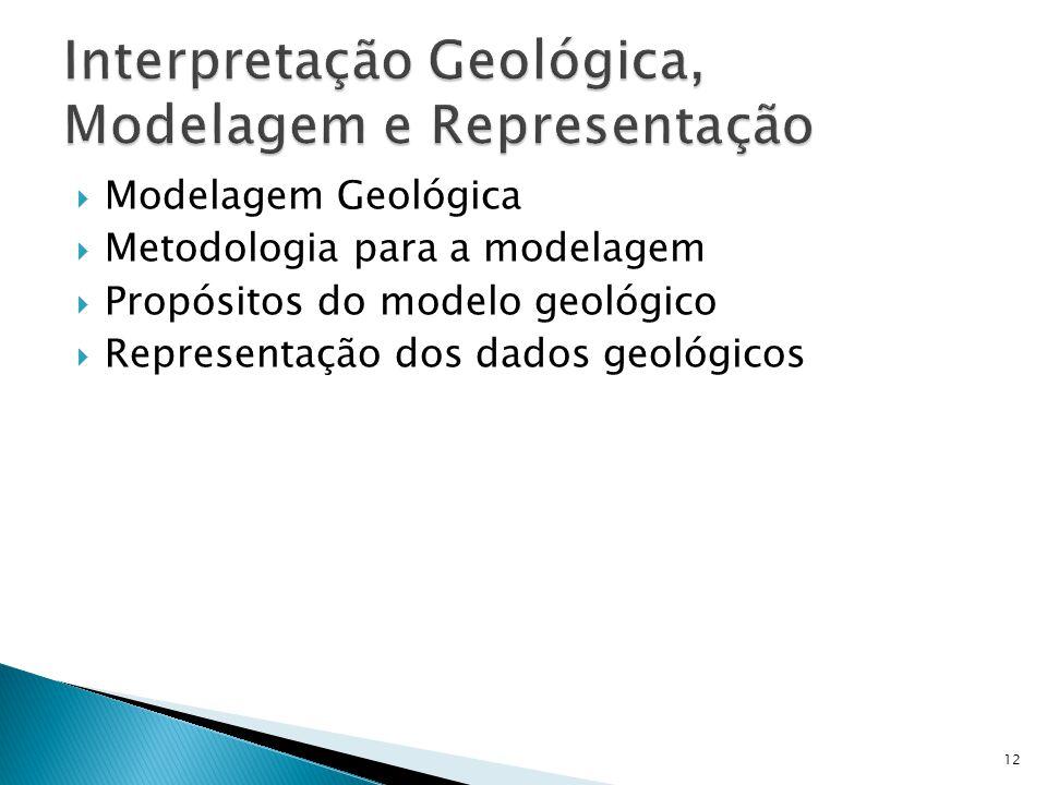 Interpretação Geológica, Modelagem e Representação