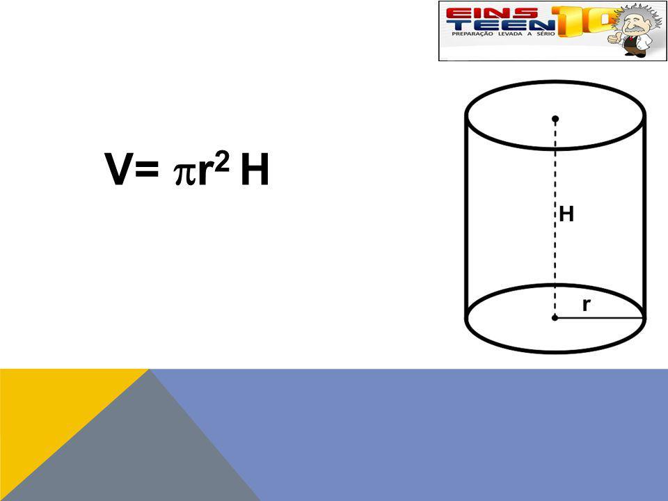 V= r2 H