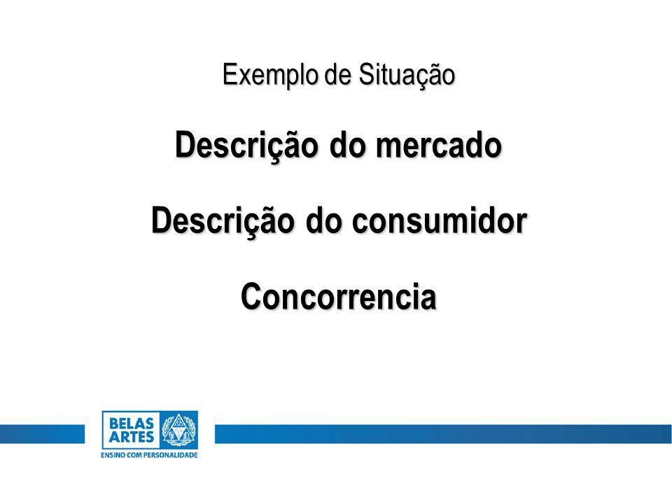 Descrição do consumidor