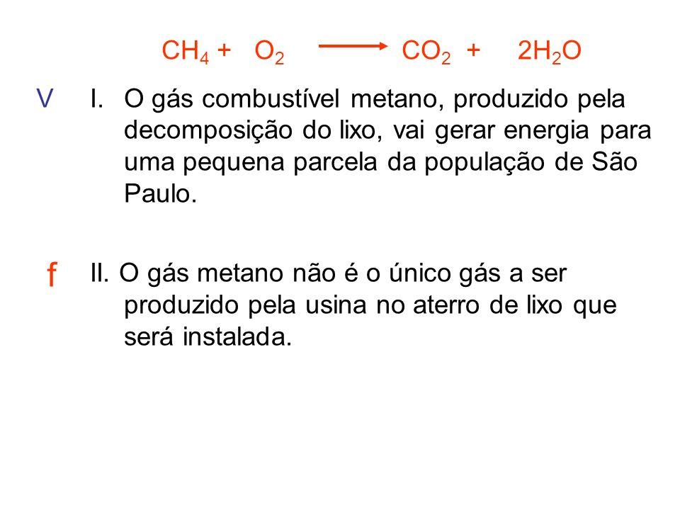 CH4 + O2 CO2 + 2H2O