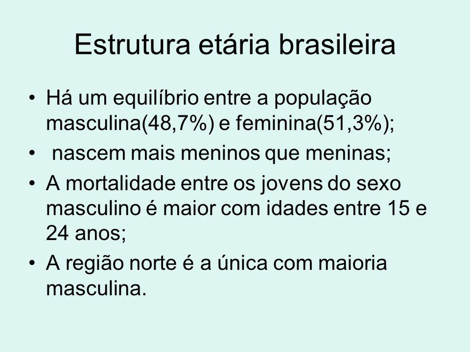 Estrutura etária brasileira