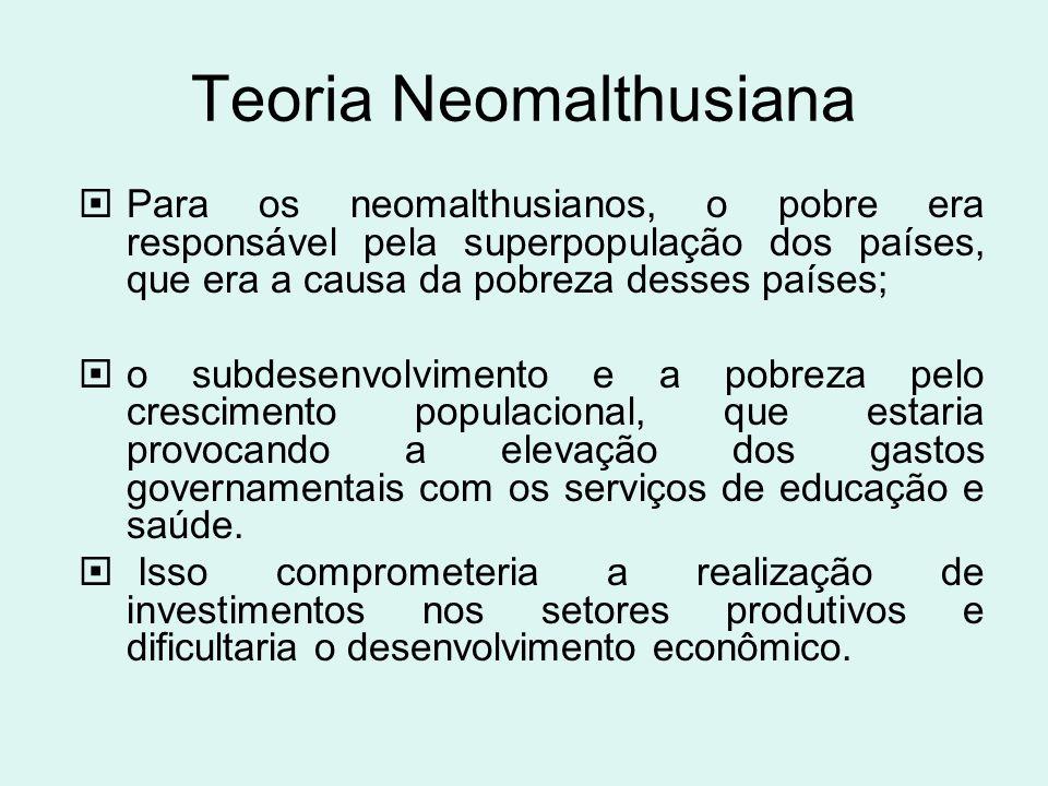 Teoria Neomalthusiana