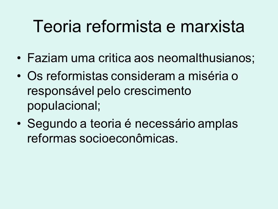 Teoria reformista e marxista