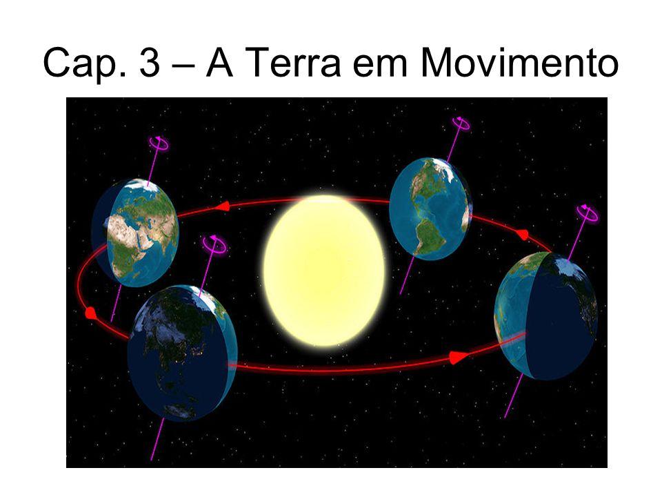 Cap. 3 – A Terra em Movimento