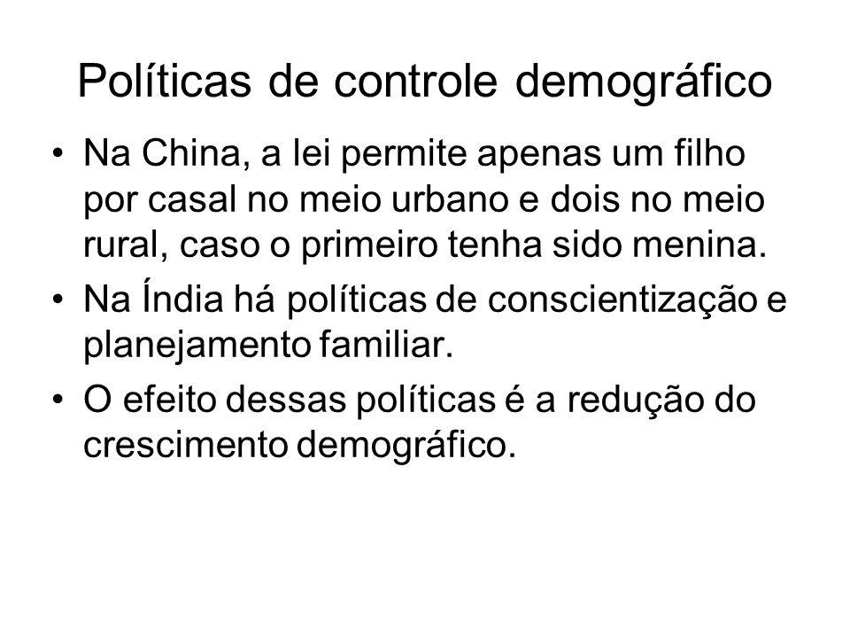 Políticas de controle demográfico