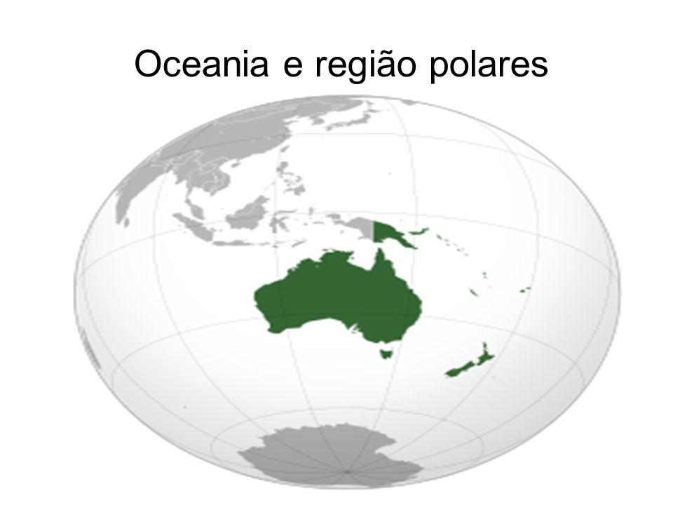 Oceania e região polares