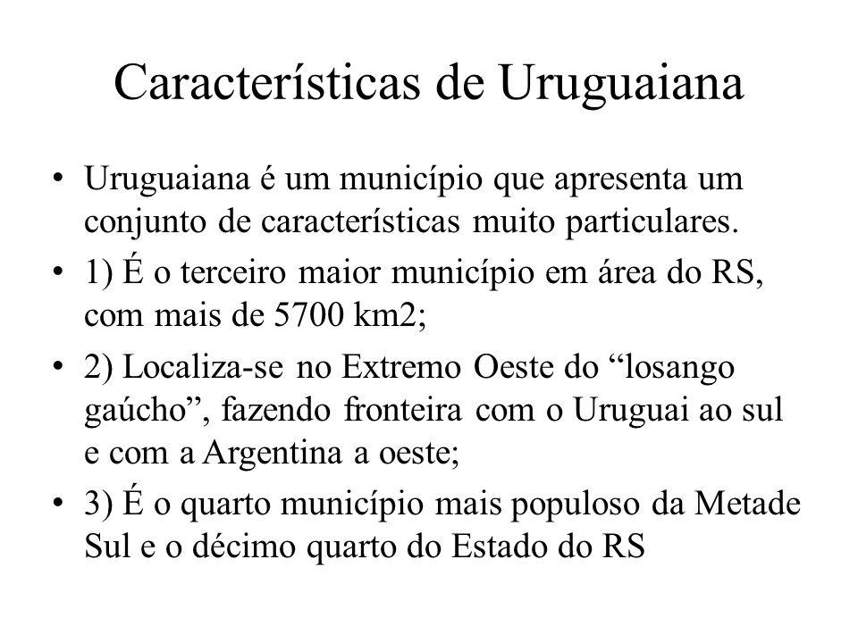 Características de Uruguaiana