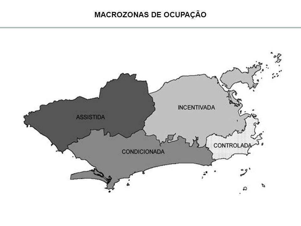 MACROZONAS DE OCUPAÇÃO
