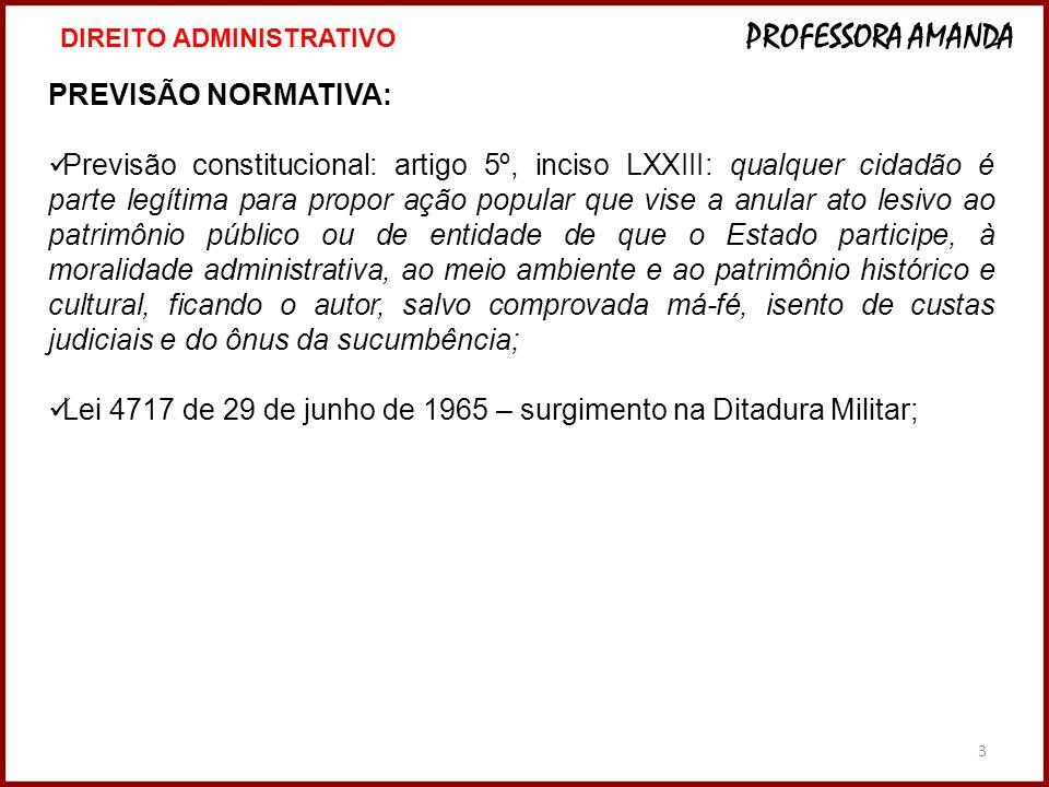 Lei 4717 de 29 de junho de 1965 – surgimento na Ditadura Militar;