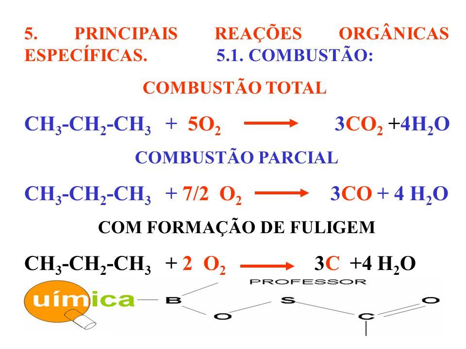 COM FORMAÇÃO DE FULIGEM