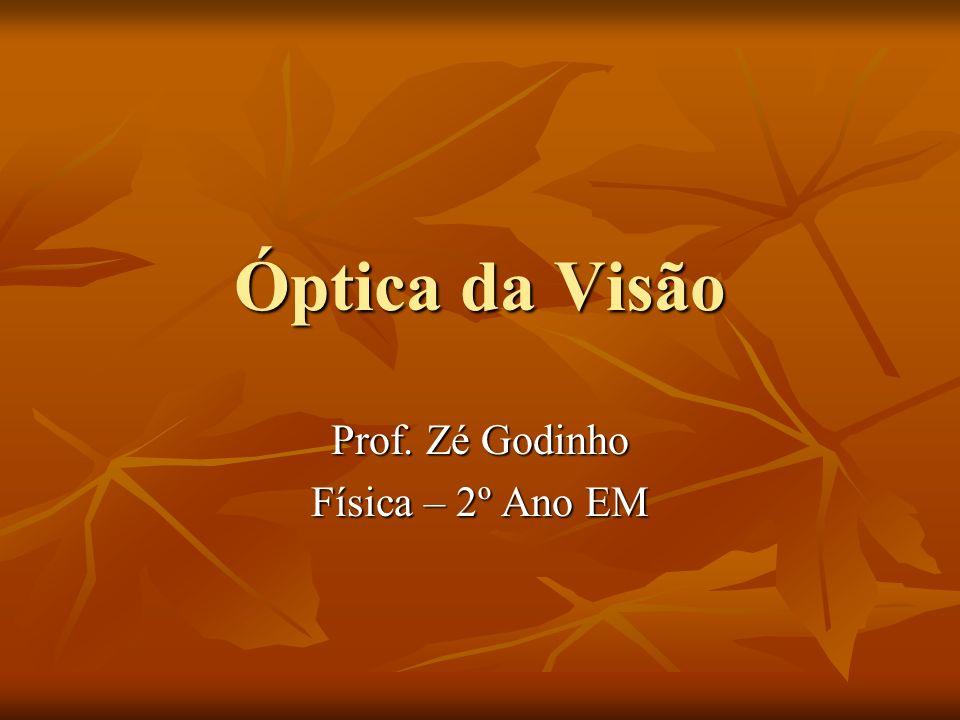 Prof. Zé Godinho Física – 2º Ano EM