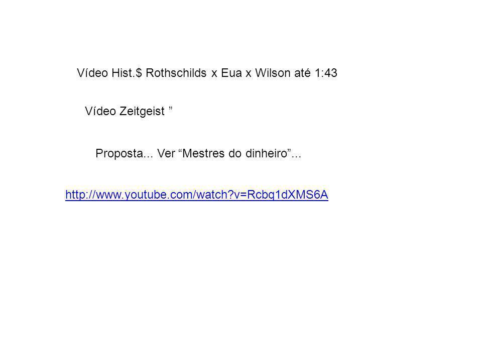 Vídeo Hist.$ Rothschilds x Eua x Wilson até 1:43