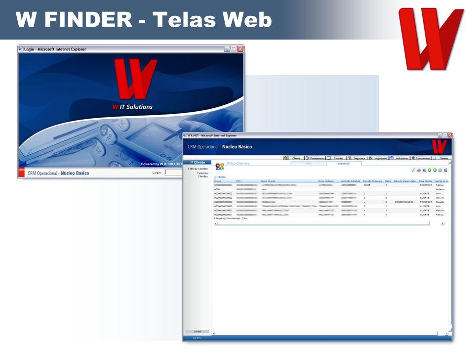 W FINDER - Telas Web