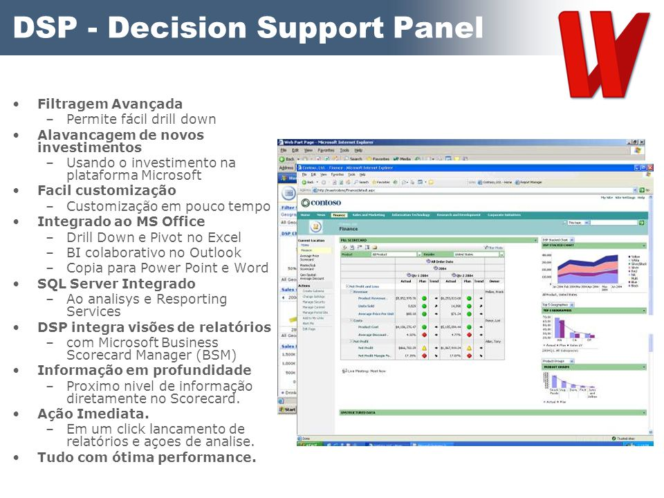 DSP - Decision Support Panel