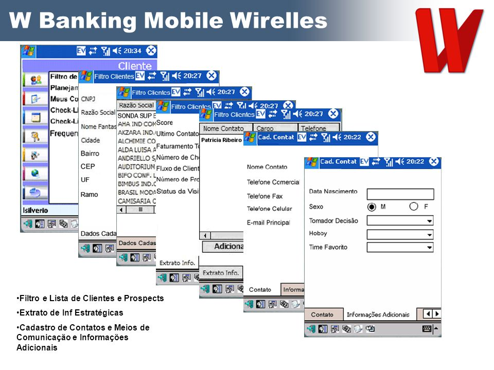 W Banking Mobile Wirelles