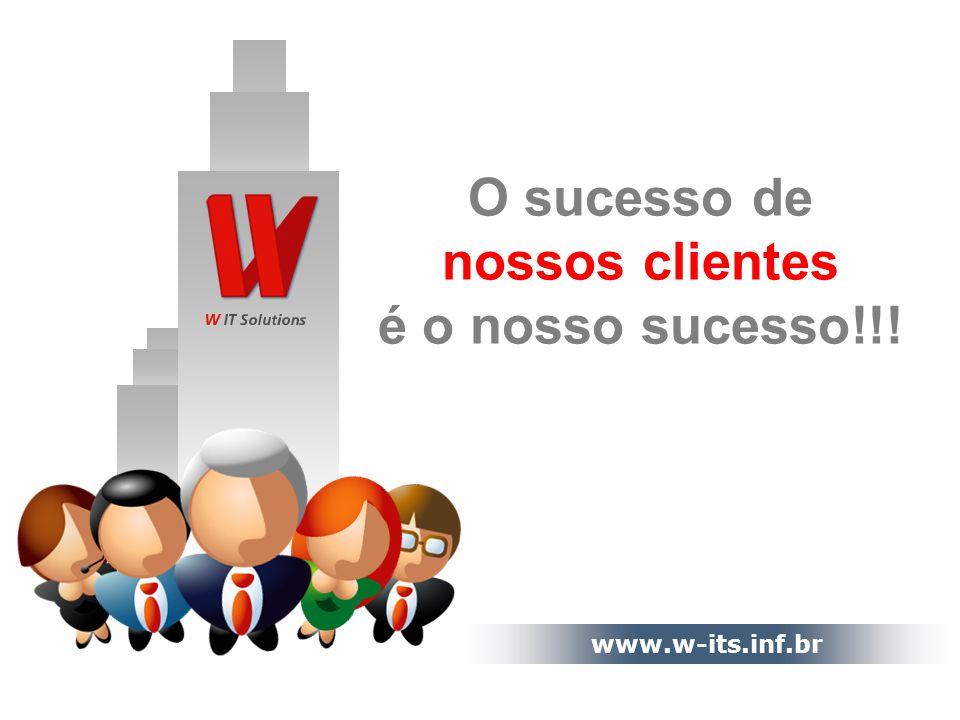 O sucesso de nossos clientes é o nosso sucesso!!!