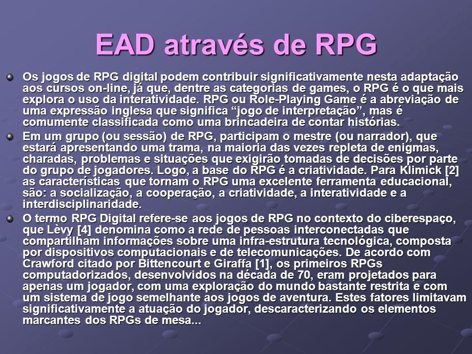 EAD através de RPG