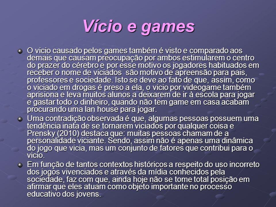 Vício e games