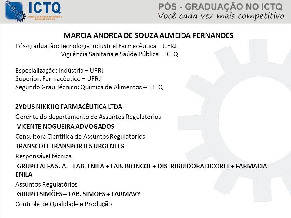 MARCIA ANDREA DE SOUZA ALMEIDA FERNANDES
