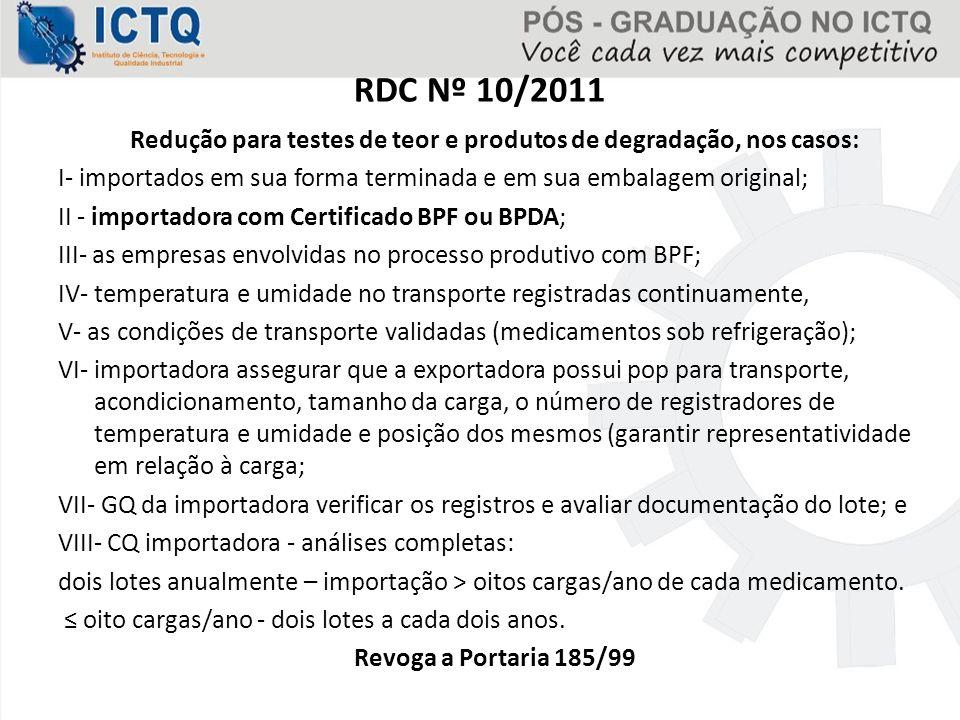 RDC Nº 10/2011