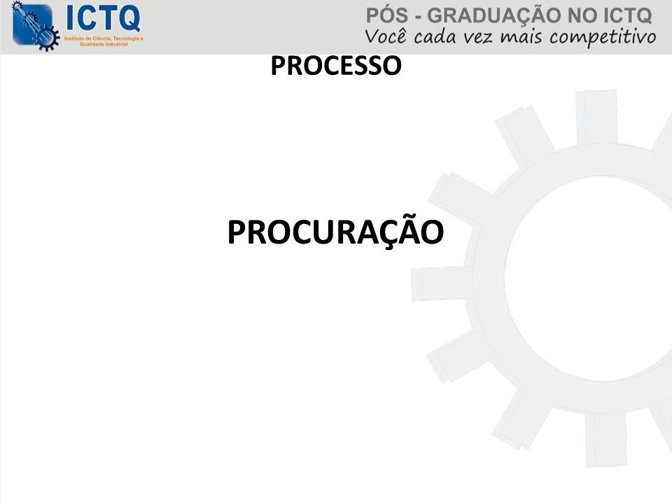 PROCESSO PROCURAÇÃO