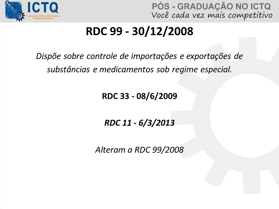 RDC 99 - 30/12/2008