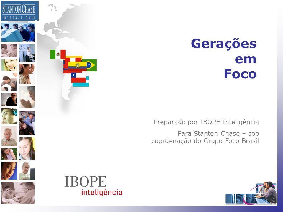 Gerações em Foco Preparado por IBOPE Inteligência