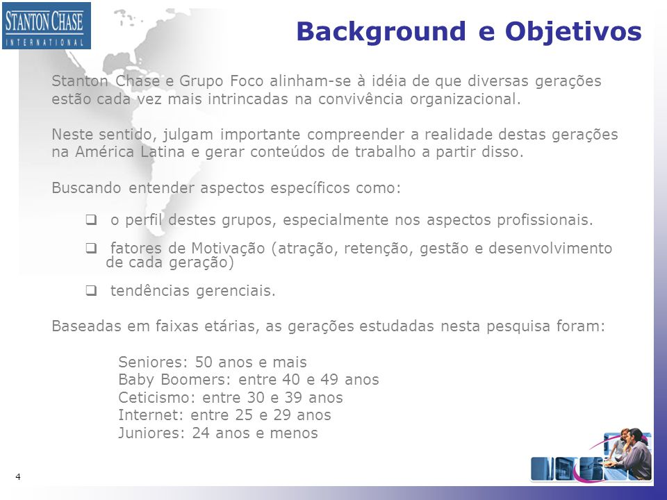 Background e Objetivos