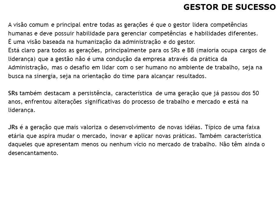 GESTOR DE SUCESSO
