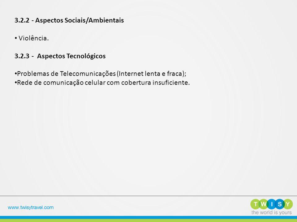 3.2.2 - Aspectos Sociais/Ambientais