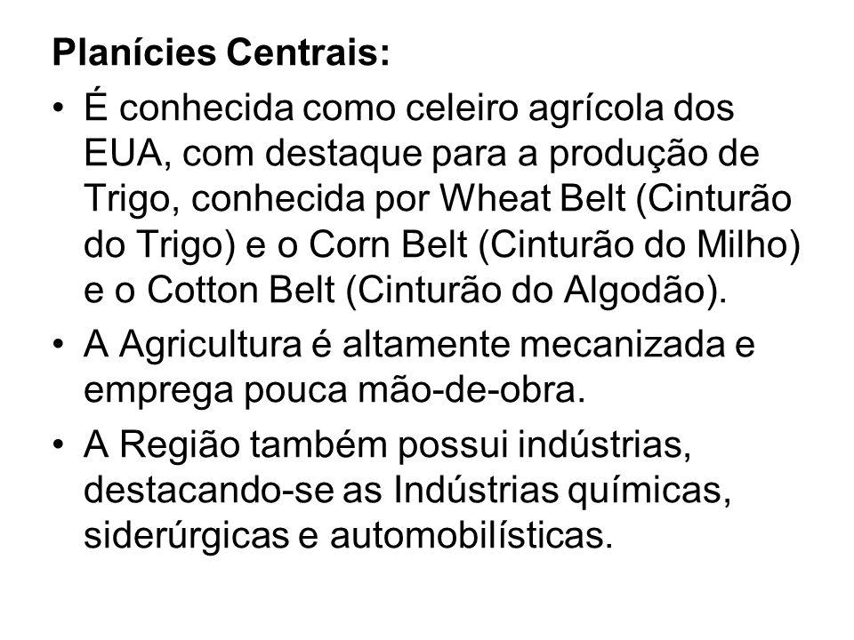 Planícies Centrais: