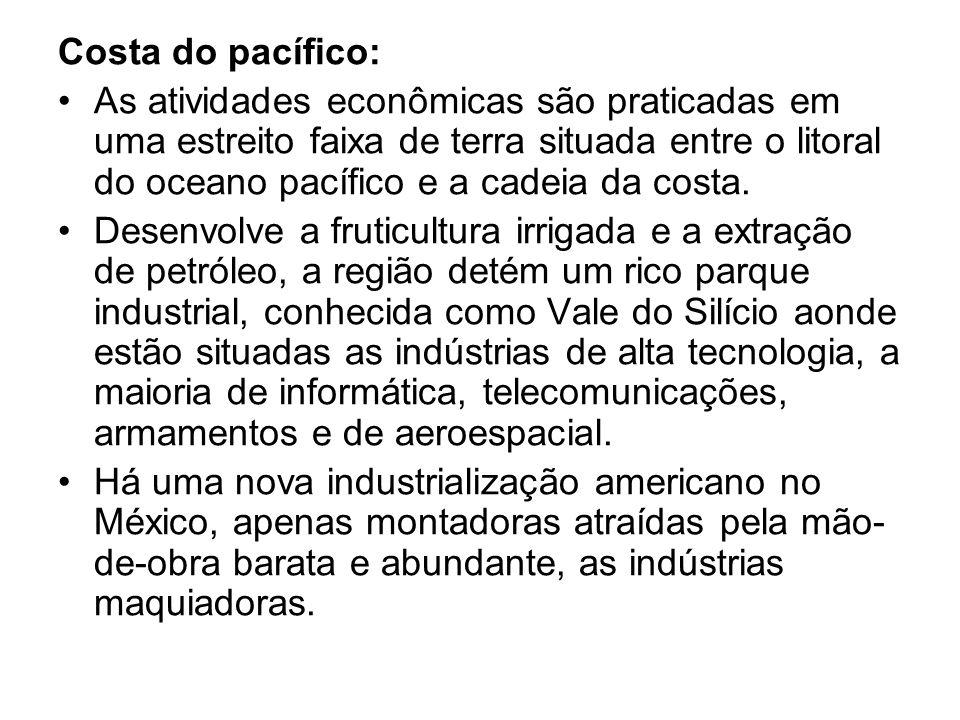 Costa do pacífico: