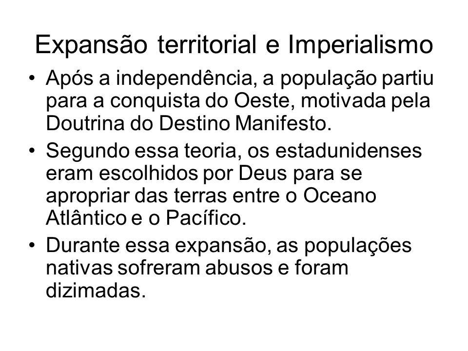 Expansão territorial e Imperialismo