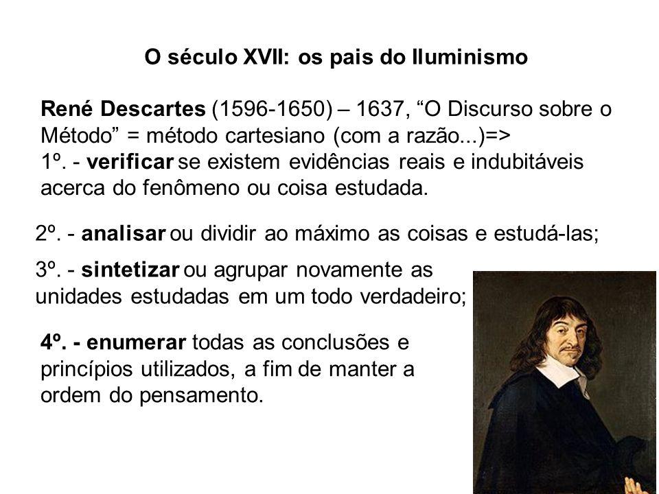 O século XVII: os pais do Iluminismo