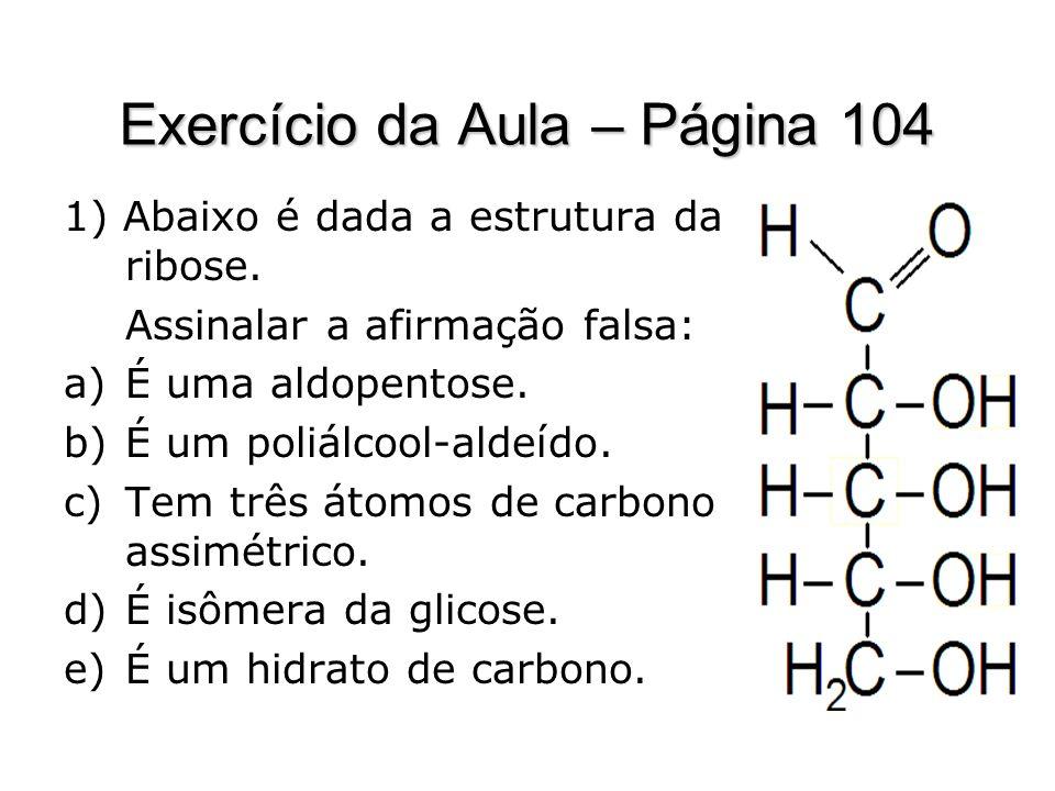 Exercício da Aula – Página 104