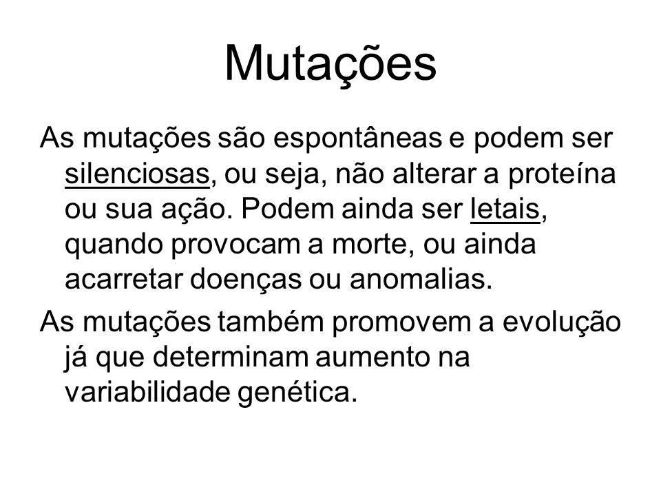 Mutações