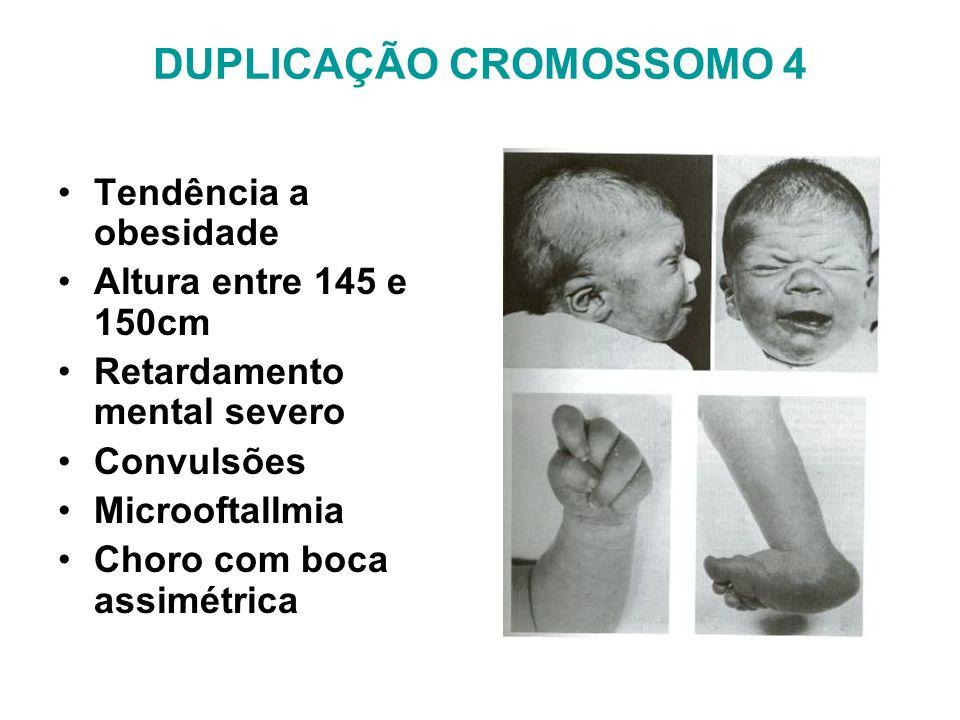 DUPLICAÇÃO CROMOSSOMO 4