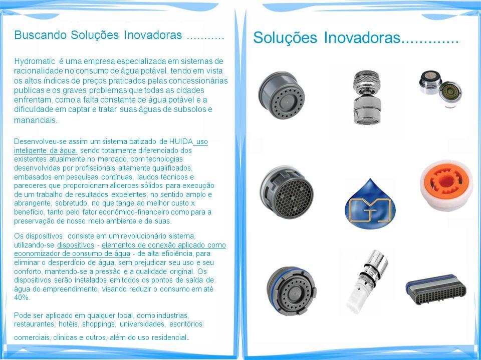 Buscando Soluções Inovadoras ...........